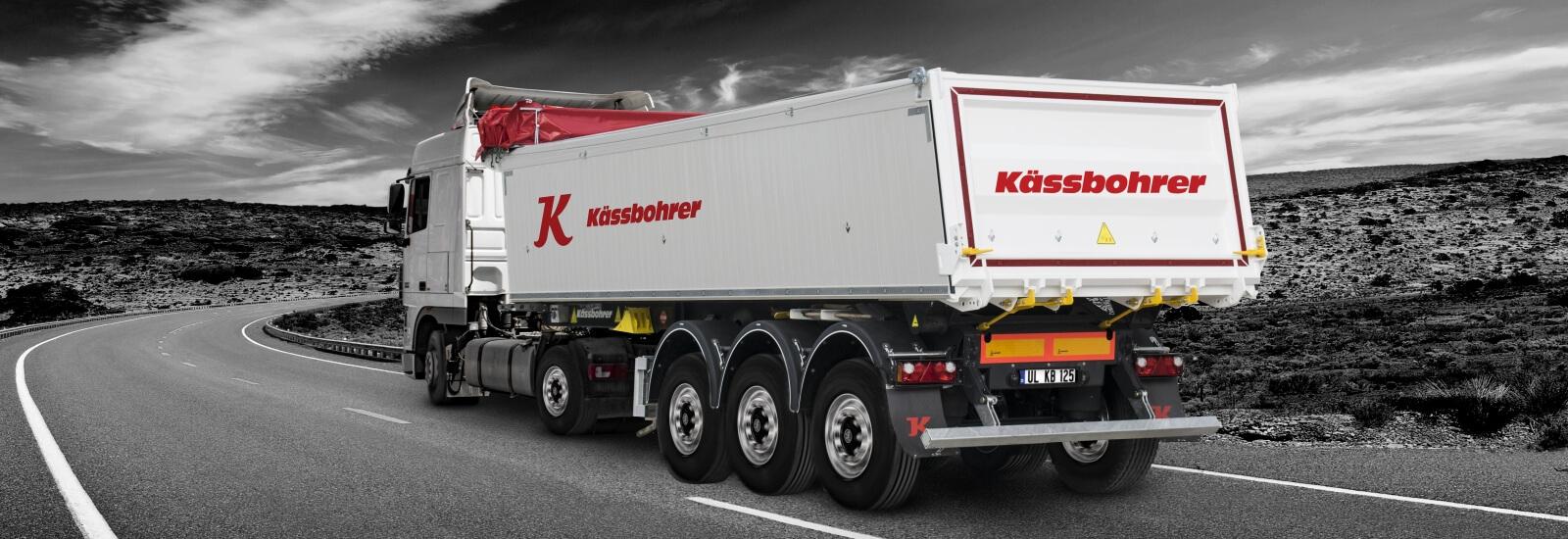Kassbohrer K.SKS BS / 24 - 12 / 27 прицеп самосвальный стальной