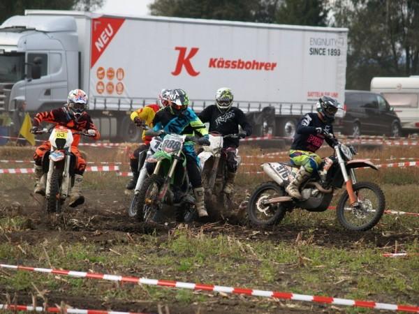 Motocross Race In Achstetten